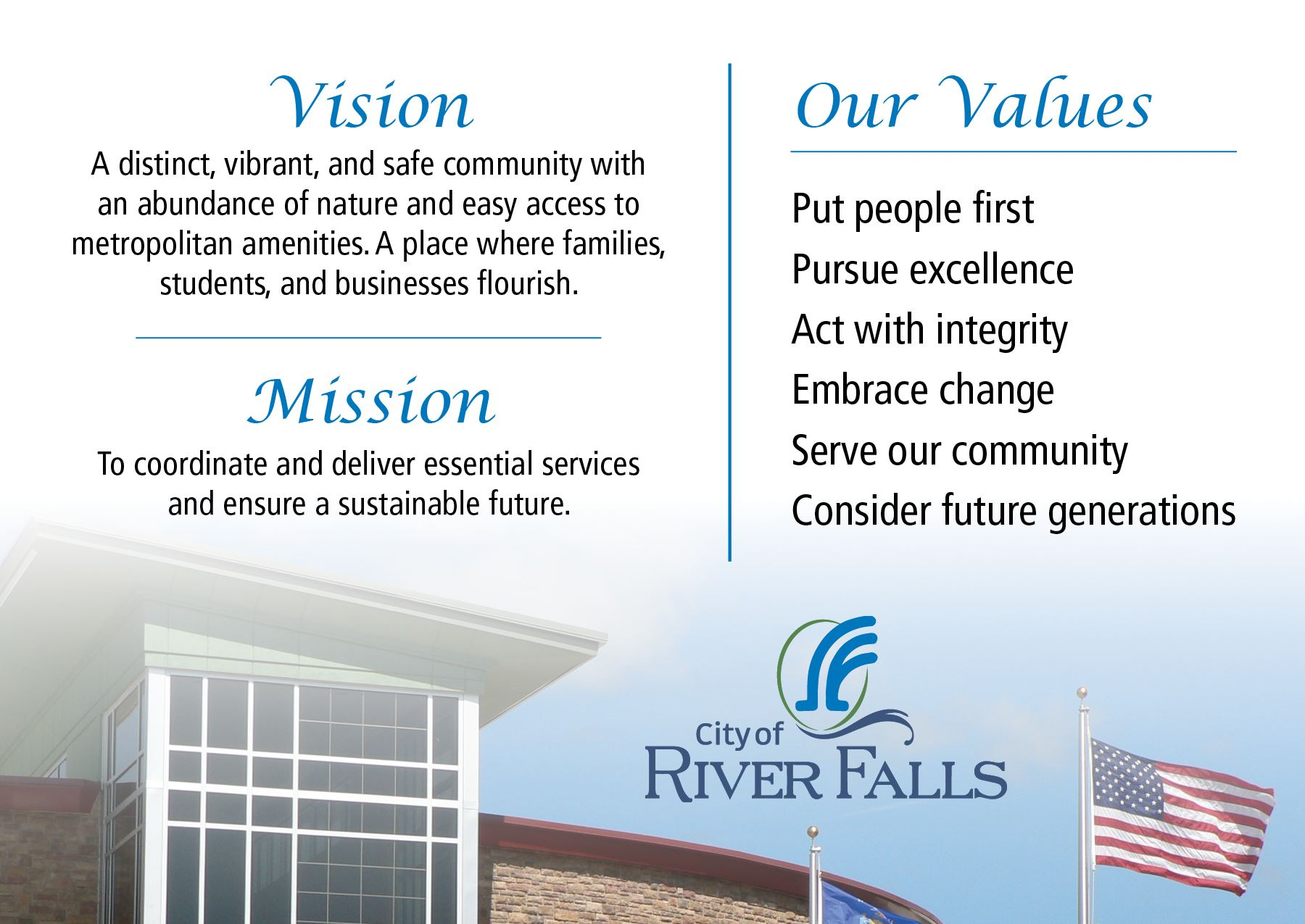 Values Statement Graphic